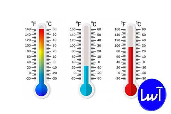 دما یا temperature چیست ؟